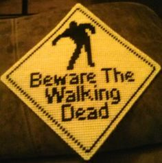 free printable plastic canvas patterns walking dead - Google Search