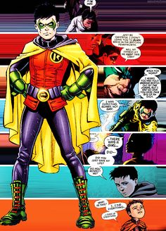 Damian Al Ghul Wayne........ Wayne first Al Ghul second