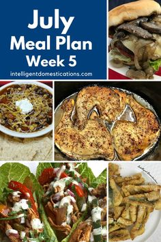Summer Meal Plan for one week. Dinner ideas with side dishes and recipes for one week. Dinner ideas to make in the summer. No bake dessert included. #mealplan Summer Meal Planning, Menu Planning, Dinner Recipes, Dinner Ideas, Meals For One, No Bake Desserts, Homemaking, Baked Potato, Side Dishes
