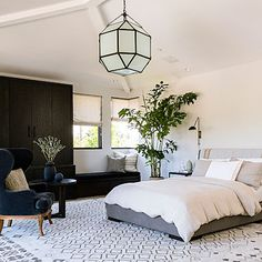 Beautiful bedroom ... so peaceful .... Embrace minimalism - 25 Modern Room Decorating Ideas - Sunset