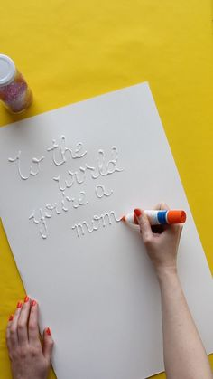 Your mom will adore these easy Mother's Day Cards. Try making a card for your mom this year instead of buying one from the store for a unique and personalized gift.