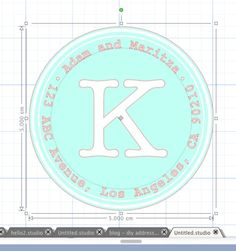 DIY Address Labels with the Silhouette CAMEO