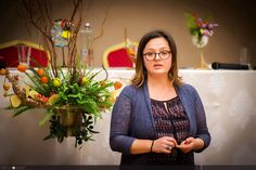 Vegetables and flowers for a Nutrition Conference arrangements by Atelier Floristic Aleksandra concept Alexandra Crisan