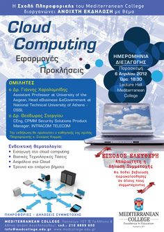 Cloud Computing Seminar POSTER