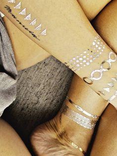 Tatuajes temporales de joyería | ActitudFEM