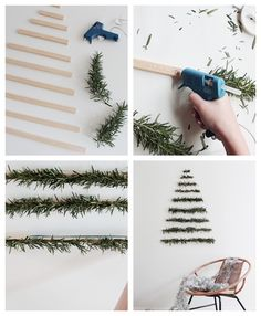 47 Christmas decoration to make ultra creative projects to offer a unique decor With Christmas fast approaching, it's time to help our homes don their festive attire. And while some are going to spend a colossal sum to ensure that. Home Decor Christmas Fairy, Christmas Balls, Christmas Time, Christmas Wreaths, Handmade Christmas Decorations, Christmas Centerpieces, Holiday Decor, Christmas Activities, Christmas Traditions