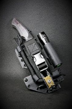 10 different survival items are stuffed inside this thing - survival gear Tactical Survival, Survival Tools, Camping Survival, Outdoor Survival, Survival Knife, Survival Items, Camping Tools, Camping Checklist, Tactical Pouches