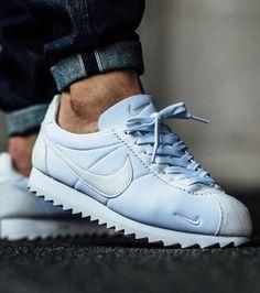 brand new 0fc4e bd5aa Tenis Cortes Nike, Nike Cortes, Zapatos De Color Azul, Zapatillas Para  Correr,
