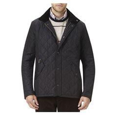 New for 2015 Barbour Chelsea Sportsquilt Jacket - Black