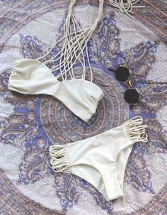 Beach Boho :: Bikini :: Swimsuits :: Bohemian Summer :: Free your Wild :: See more Untamed Beach Style Inspiration @untamedmama
