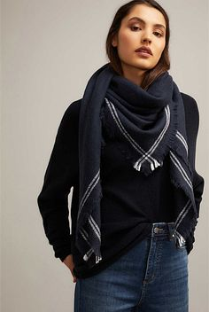 Weekend Square Scarf | Hats Scarves & Gloves