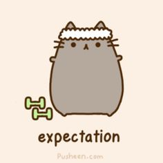 Community Post: 20 Adorable 'Pusheen The Cat' Gifs
