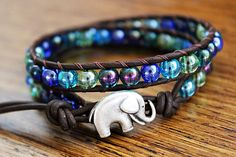 I really like this. Elephant jewelery can often be old-ladyish but this is very youthful & fun.
