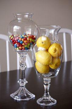 DIY: Candlestick Vases