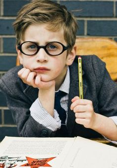 Super Cute look! Make your child LOVE his glasses more than he can see!!! www.mymariettavision.com