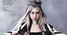 Model: Soo Joo Park (Wilhelmina) Editorial: Martial Arts Magazine: Vogue Korea, June 2013 Photographer: Hye...