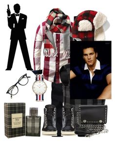 """Untitled #2355"" by princhelle-mack on Polyvore featuring James Bond 007, Topman, Aéropostale, Gap, G.H. Bass & Co., Burberry, Yves Saint Laurent, Garrett Leight, M&F Western and men's fashion"