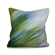 E by Design The Great Outdoors Inside Out Designs Print 16 x 16-inch Pillow