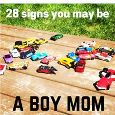 28 Signs you may be a BOY MOM | Portland Moms Blog