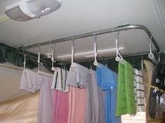 pop up camper organizers | Always seem to run out of room to hang towels etc!