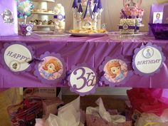 Sofia the First Birthday Party Ideas | Photo 9 of 13 | Catch My Party