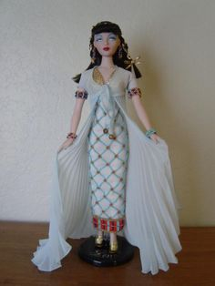 """THE STUDIO COMMISSARY: Theme: Lovely beading on many AD fashions>>>PIC  -    Posted by SuzanneMcD on 8-26-2015.  This picture is """"Daughter of the Nile""""  (5 PICS)"""
