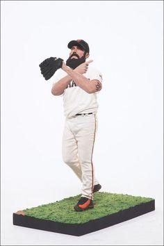 San Francisco Giants Brian Wilson McFarlane Figurine