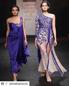 Shreya c & roshni s #toabhmodel#teamtoabh #fashionweek#lakme#runway#style#india#lakmefashionweek2017 #