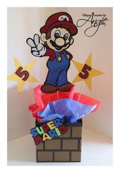 Mario bros. centerpieces https://www.etsy.com/shop/Angieuniquecreations