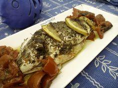 Una semplice ericetta per un orata al forno particolarmente saporita. Una ricetta greca che faceva sempre mia mamma.