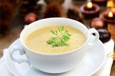 Creamy Chestnut Cauliflower Soup