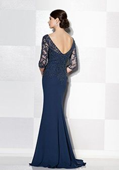 Cameron Blake 215637 Blue Mother Of The Bride Dress