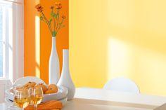 Gelb und Orange ... das passt perfekt.