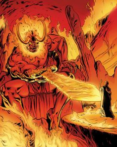 Surtur. He really should be in the next Thor movie.