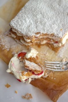 Strawberry Millefeuille - going on the Must Make Soon list