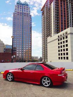 Red Honda Prelude SH