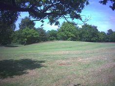 West end of Caesar's Camp, Wimbledon Common Wimbledon Common South West London England