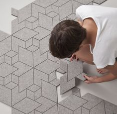 A Smarter Rug: Modular, Sustainable Felt Tiles | Environment on GOOD