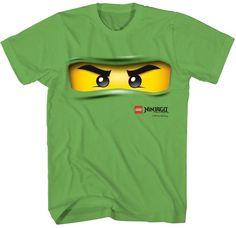 Ninjago Green Ninja Face TShirt $7.64 #topseller