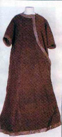 13th Century Tunic of St. Elizabeth ca 1238, located in Elizabenthal Kloster Tiefenthal im Rheingan.
