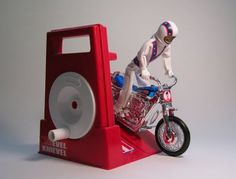 Evel Knievel Stunt Cycle (mid-1970s).