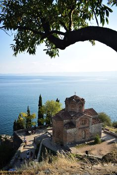 It's trendy to call Ohrid a 'hidden gem', one of the last unexplored hidden treasures of Europe - but I think this term is used so o. Travel Europe, Us Travel, Lakeside Restaurant, Walk Past, Beach Bars, Macedonia, Best Photographers, Great View, Old Town