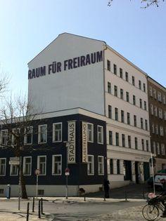 RAUM FÜR FREIRAUM  Stadthaus Museum, Lichtenberg, Berlin  Foto: marioland
