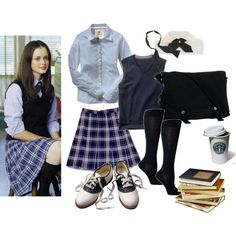 """""""Rory Gilmore's Chilton outfit"""" Avery's Halloween Costume"""