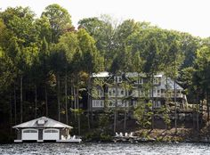 Muskoka Living |ML.   This is the area where I grew up. Muskoka, Ontario  .  Multimillion dollar places on the water all over the place.  I can dream!!!
