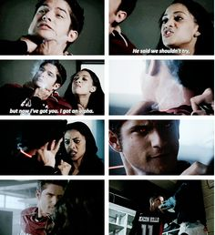 teen wolf 4x05>>>>>>>>>Don't go after an alpha unless you know what kind of Alpha it really is, you should have listened to your boyfriend when he said Scott is powerful and to not mess with him. He didn't kill for his status, he's a True Alpha meaning more powerful than a lower level Alpha.