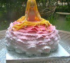 Poupée en sucre et gâteau sous la robe de LUDICAKES