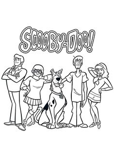 top 20 scooby doo coloring pages for your little ones