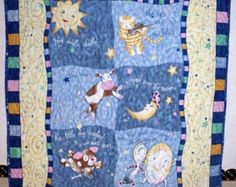 Hey Diddle Diddle Quilt Crib/Lap/Wall