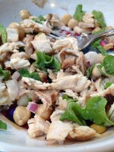 Quick and Simple Chicken Salad
